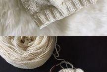 Вязание шапки и шарфы