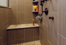 Master Bathroom Remodel | Glen Ellyn / A master bathroom remodelling project in Glen Ellyn by DESIGNfirst.
