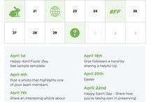 Content calendar for teams