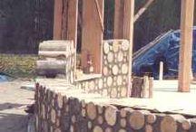 pereti butuci lemn