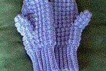 Crochet Shoes Socks Gloves