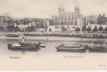 Tower of London postcards / Old postcards of the Tower