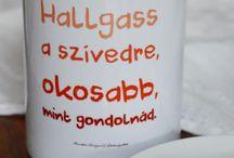 feliratos pohár