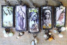 Catholic Jewelry / Holy jewelry. Holy pendants.