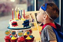 party theme - superhero