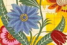 PAPELES & TELAS & DISEÑOS / Loca por los colores y diseños