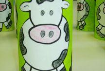 ζωγραφηκη αγελαδα