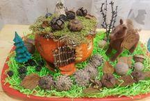 Подделка из тыквы в детский сад