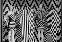 Черно-белые витрины