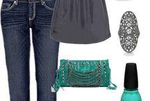 Összeállítások ékszerrel / Outfit sets