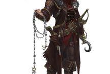 Characters: warriors