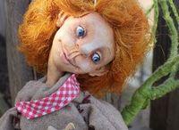 Ro.Mashka.dolls.Авторские куколки от Марии Романовой. / авторские куклы Марии Романовой. Гномики ,тролли,чердачная кукла,авторская кукла