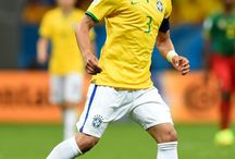 Thiago Silva / Soccer star for the Brazil national team!