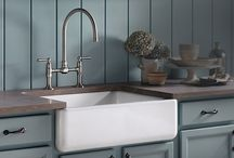 Sinks / Whether it's for a kitchen or bathroom, a sink can be a decorative focal point, as long as it's still functional!