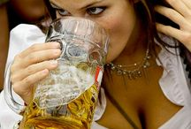 Ladies loving beer