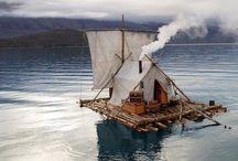 Kalandozás egy álomvilágban / Gyermekkori és felnőttként olvasott kalandregények ihlette álomvilágom képei kalózokról, vikingekről, indiánokról, harcosokról a tengereken, az őserdőkön át, szerte Amazóniában, Indiában, Alan Quatermainnel Afrikában ... Grant kapitány gyermekei, Kétévi vakáció ... Thor isten ... Csingacsguk és Nathaniel ...