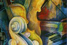 Cello kunst
