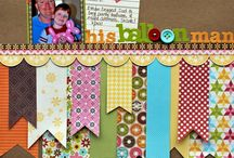 Scrapbook Pages / by Pam Bert