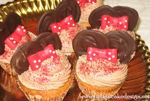 cake design cup cake minnie