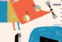 Kids Illustrations // INSPIRATIONS