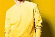 k-idols yellow aesthetic