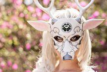 art inspo ~ masks