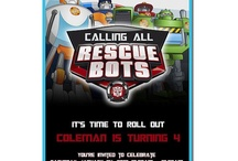 Rescue Bots Birthday