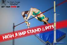 high jump stand