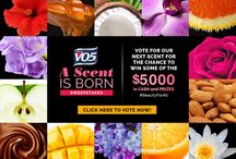"A Scent Is Born / Pick your scent and you could WIN some of $5,000 CASH and prizes. Vote for your favorite in our ""A Scent is Born"" Sweepstakes. http://bit.ly/AScentIsBorn"