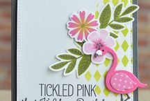 Flamingos / Quirky, cute and and pretty in pink! Flamingos can lend great inspiration to a diverse range of crafting projects, such as girly and cute or unusual and wacky.