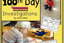 100th Day of School in Kindergarten / This board includes ideas, activities, and resources for celebrating the 100th day of school in the kindergarten classroom.
