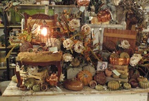 Fall shop displays / by Tattered Elegance