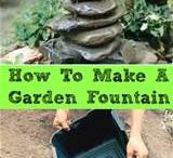 diy fountains