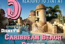 WDW Resorts - Caribbean Beach