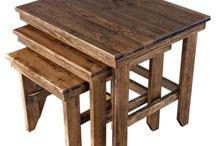 Tables & Sets / Designed for beauty & function –  Crafted by hand to last a lifetime