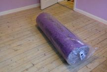 Carpet fitting crystal palace / In this project we had to fit gripper and under in 3bedrooms in crystal palace