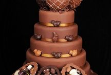 Delicious Chocolate Wedding Cakes
