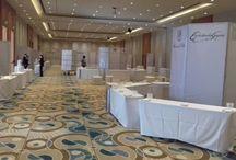 Wine Expo 2016 / Armado de mobiliario, Hotel Intercontinental Mendoza