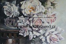 art  Beata Szwed / moje malarstwo  róże