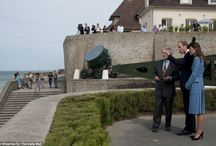 Royals at D Day Celebrations