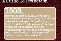 science of deduction