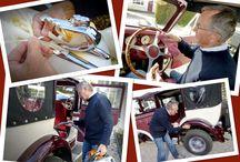 Our Wedding Cars / Our Badsworth vintage style wedding car