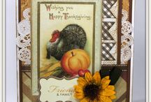 Fall and Thanksgiving Cards