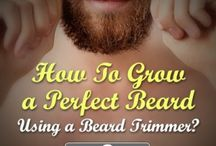 Best Electric Beard Trimmers / A collection, reviews and articles on some of the best electric beard trimmers on the market.  / by Michelle Lewis
