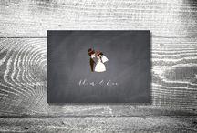 Hochzeit Einladungskarten / Hochzeitseinladungskarten von kartlerei sind perfekt um zum schönsten Tag des Lebens einzuladen!