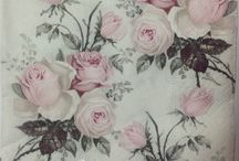 Guardanapos Roses