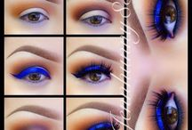 eye makeup- colour combos