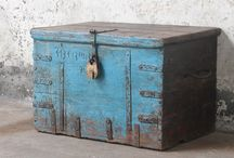 Wooden Storage Chests and Trunks