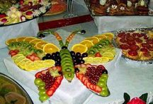Party food / fruit butterfly / by Linda Storms