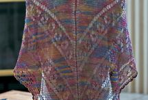 Shawls, stoles, scarves, ponchos